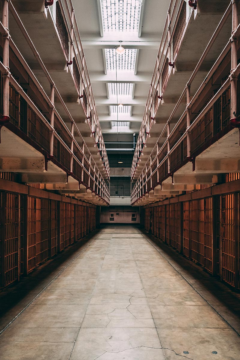 Refuse to hibernate San Francisco Alcatraz cellules