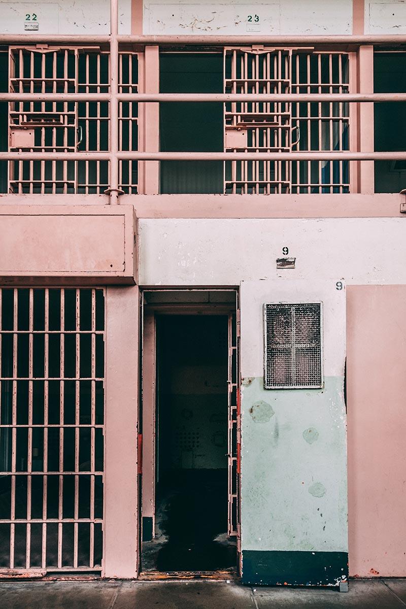 Refuse to hibernate San Francisco Alcatraz mitard