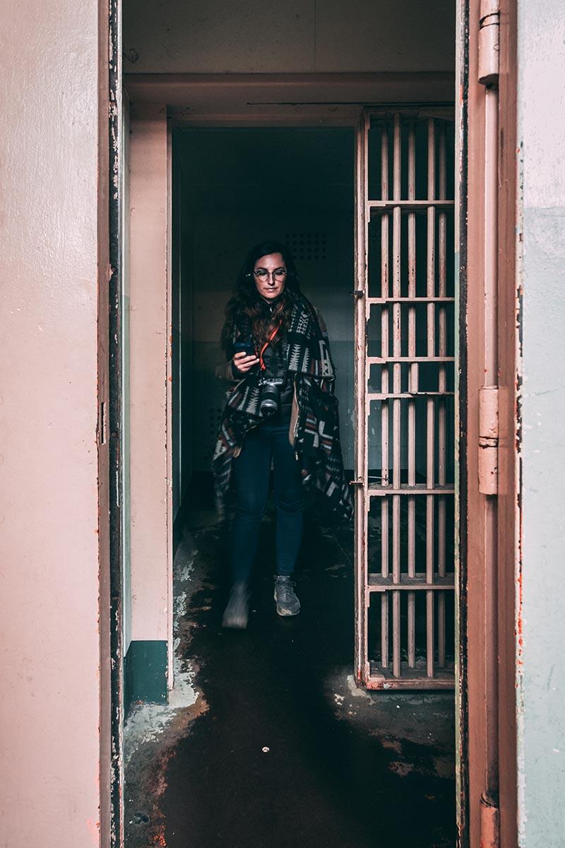 Refuse to hibernate San Francisco Alcatraz mitard Audrey