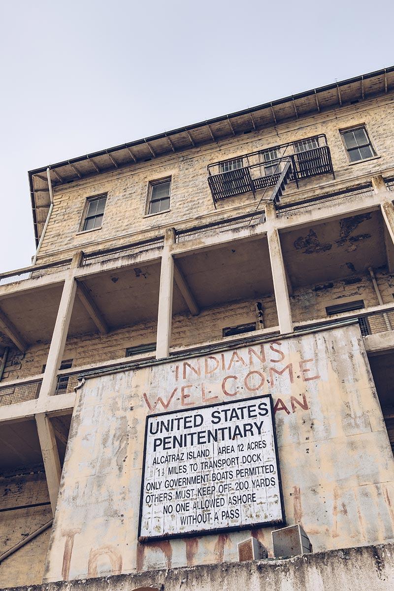 Refuse to hibernate San Francisco Alcatraz welcome
