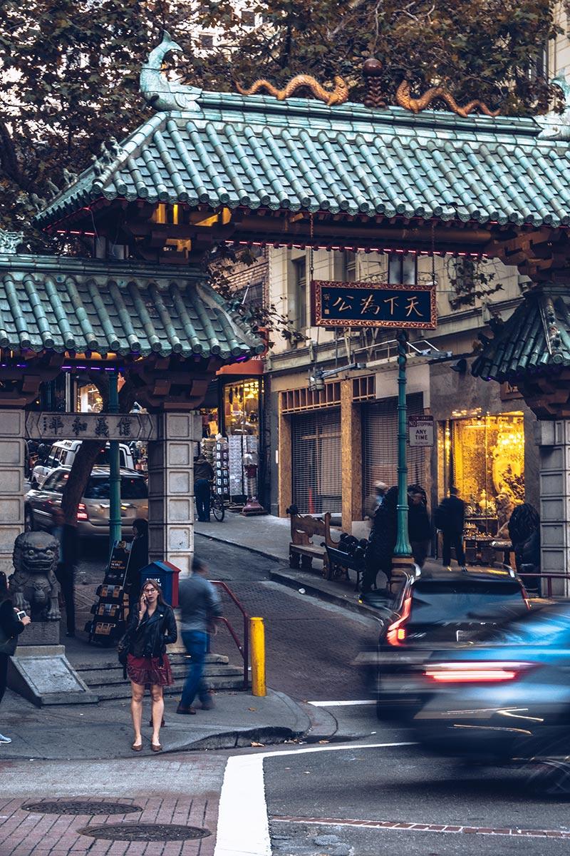 Refuse to hibernate San Francisco Chinatown porte filet