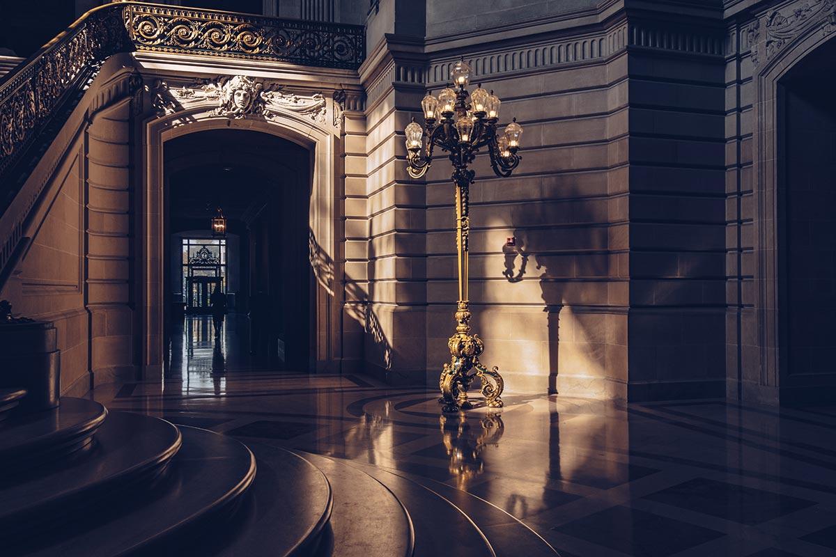 Refuse to hibernate San Francisco City Hall intérieur