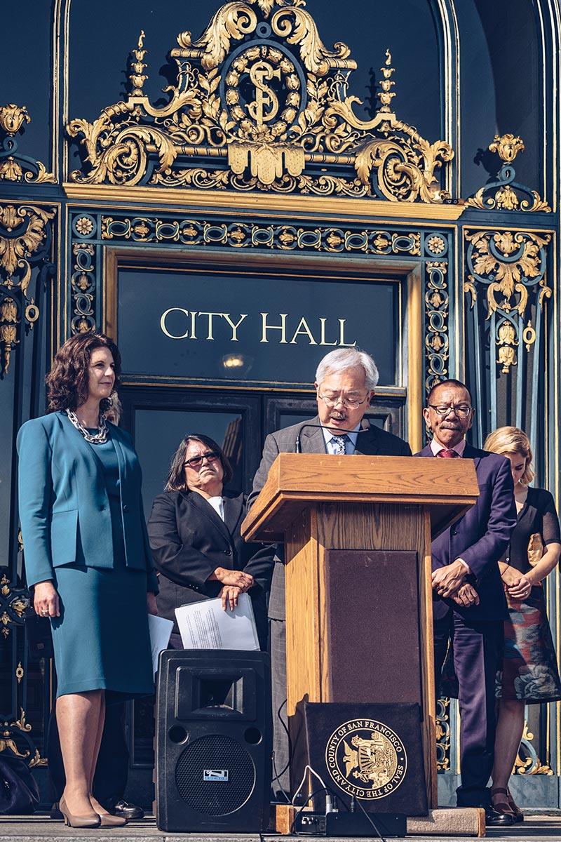 Refuse to hibernate San Francisco City Hall mayor