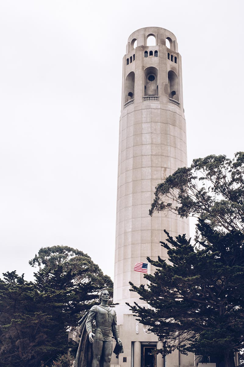 Refuse to hibernate San Francisco Coït Tower
