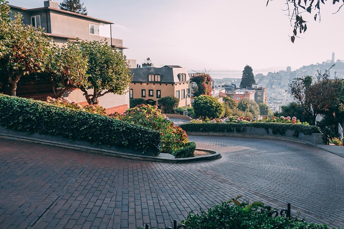 Refuse to hibernate San Francisco Lombard street route