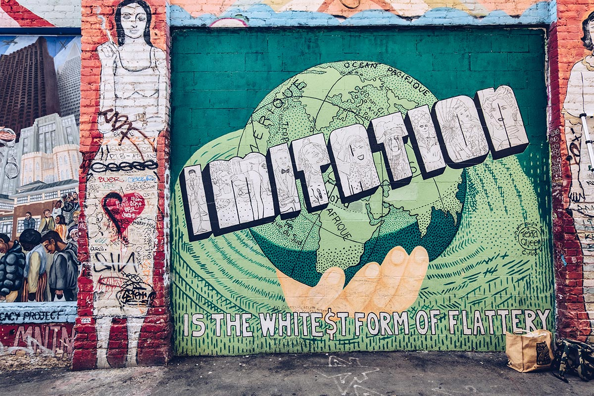 Refuse to hibernate San Francisco Mission District imitation