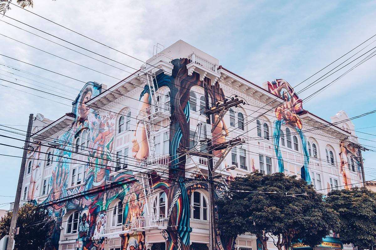 Refuse to hibernate San Francisco Mission District maison de la femme