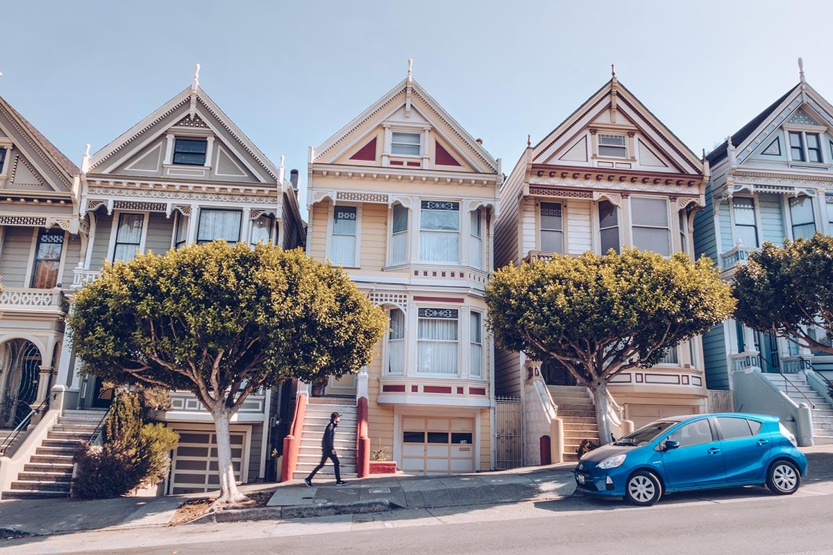 Refuse to hibernate San Francisco Painted Ladies Mickaël