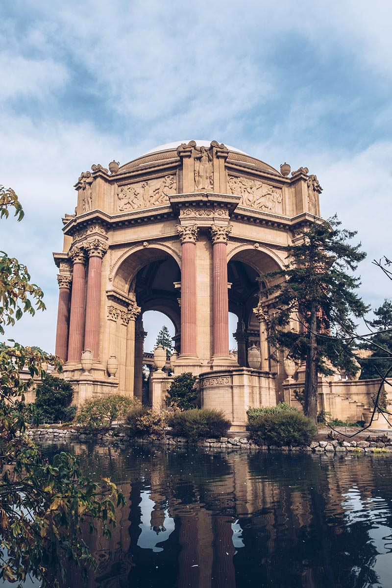 Refuse to hibernate San Francisco Palace of Fine Arts