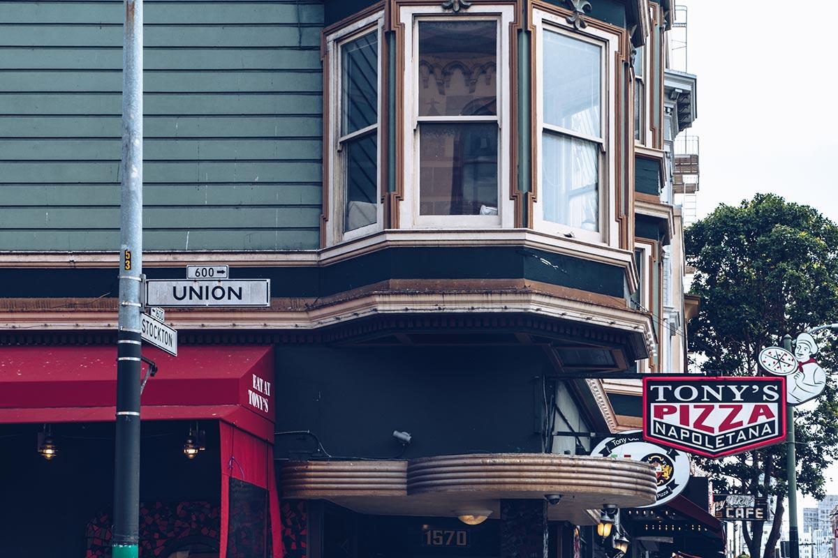 Refuse to hibernate San Francisco pizza Tony Union