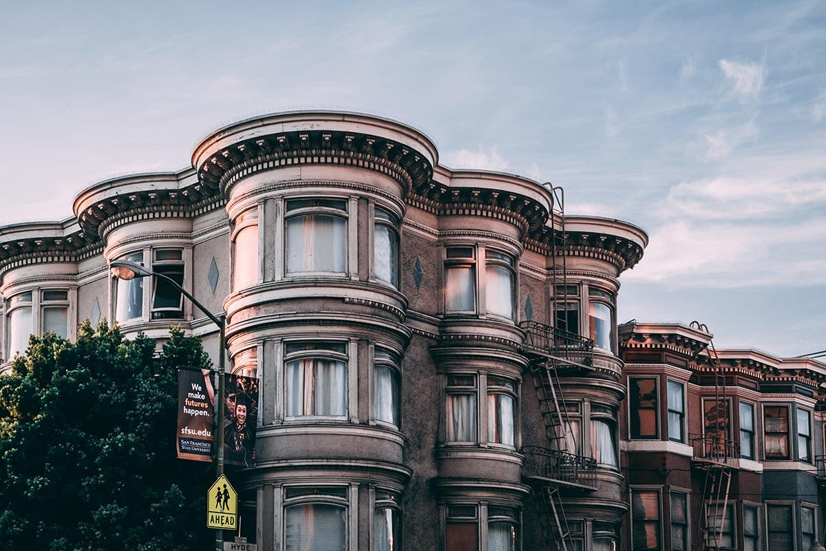 Refuse to hibernate San Francisco Russian Hill maisons