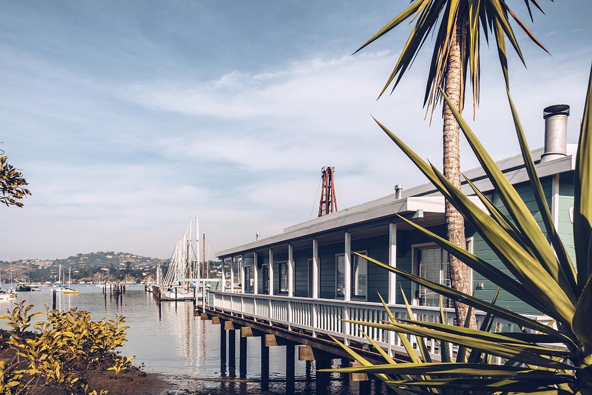 Refuse to hibernate San Francisco Sausalito maison sur le port