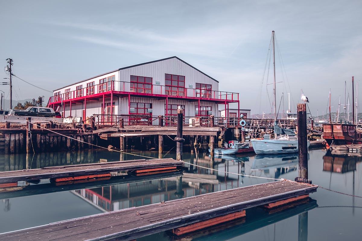 Refuse to hibernate San Francisco Sausalito marina