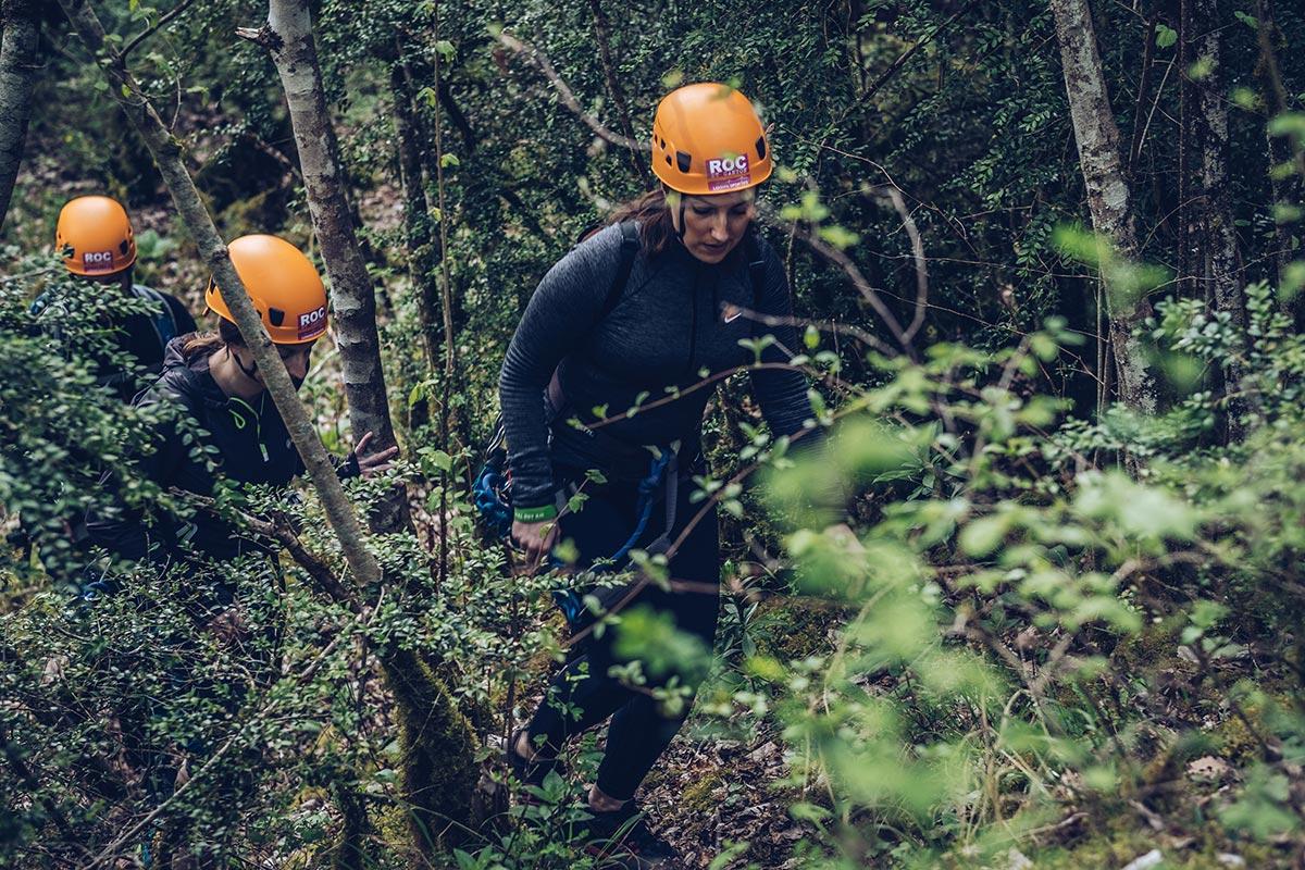 Refuse to hibernate Aveyron Audrey chemin à travers le bois