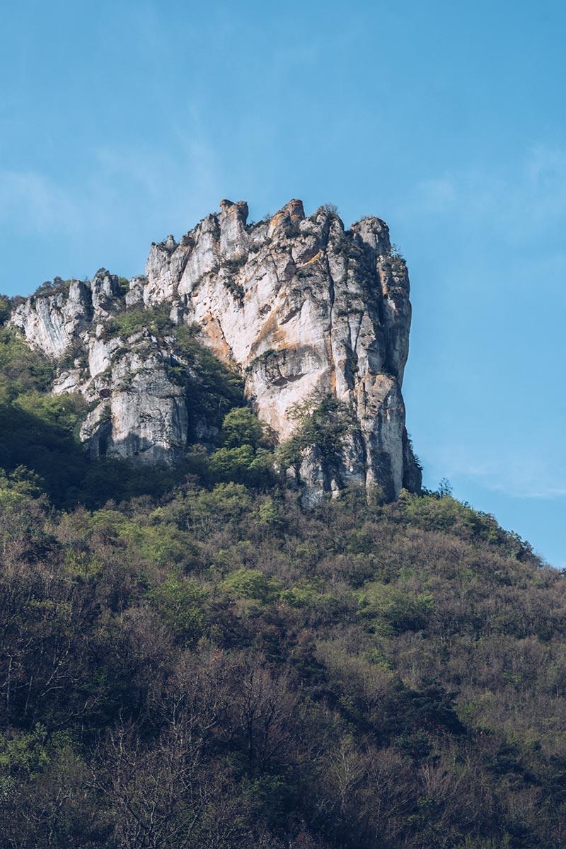 Refuse to hibernate Aveyron Gorges de la Dourbie montagne