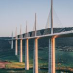 Refuse to hibernate Aveyron Millau pont coucher de soleil
