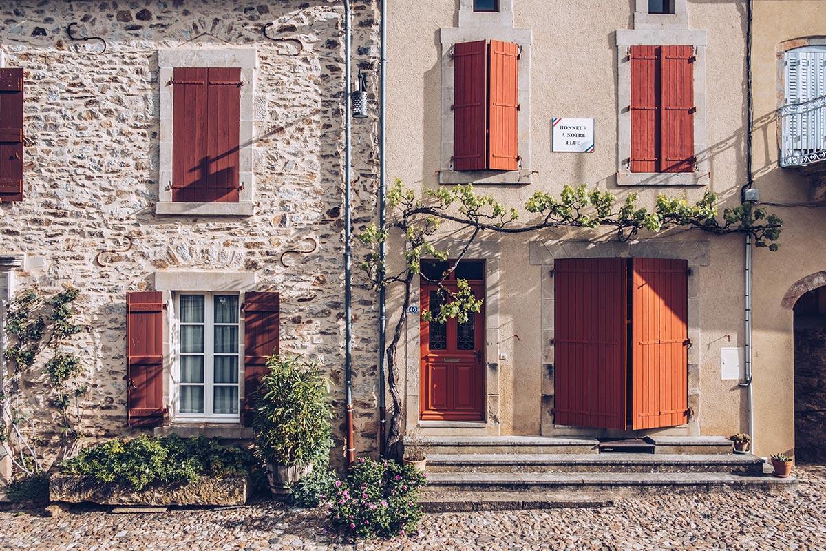 Refuse to hibernate Aveyron Najac maisons focus