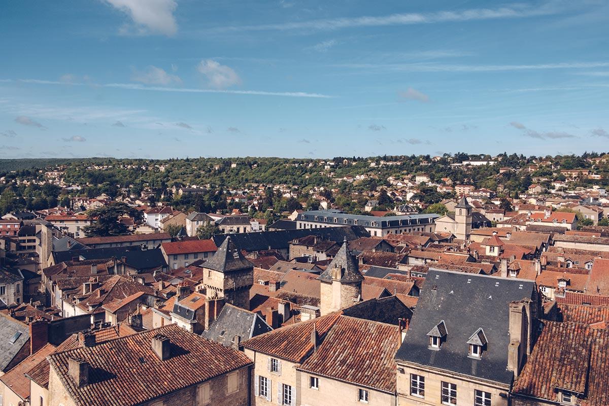 Refuse to hibernate Aveyron Villefranche-de-Rouergue vue depuis Collégiale Notre-Dame