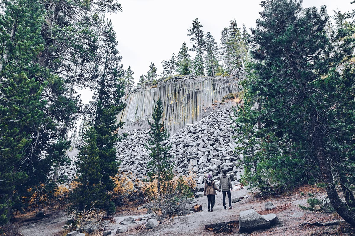 Refuse to hibernate Mammoth Devils Postpile National Monument Audrey Mickaël