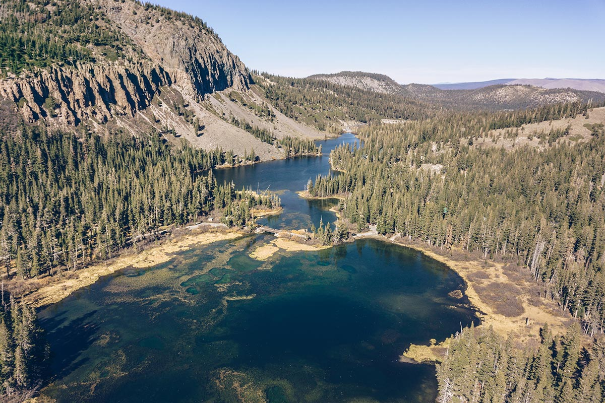 Refuse to hibernate Mammoth Lakes Twin Lakes