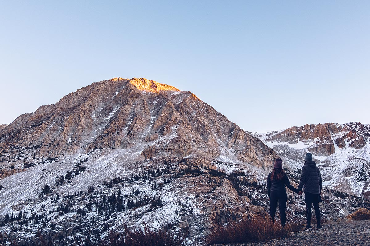 Refuse to hibernate Yosemite Tioga Road coucher de soleil Audrey Mickaël