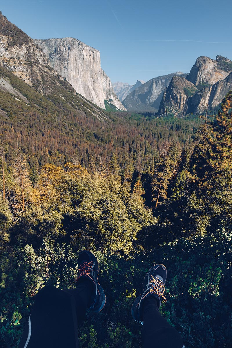 Refuse to hibernate Yosemite Tunnel view pieds