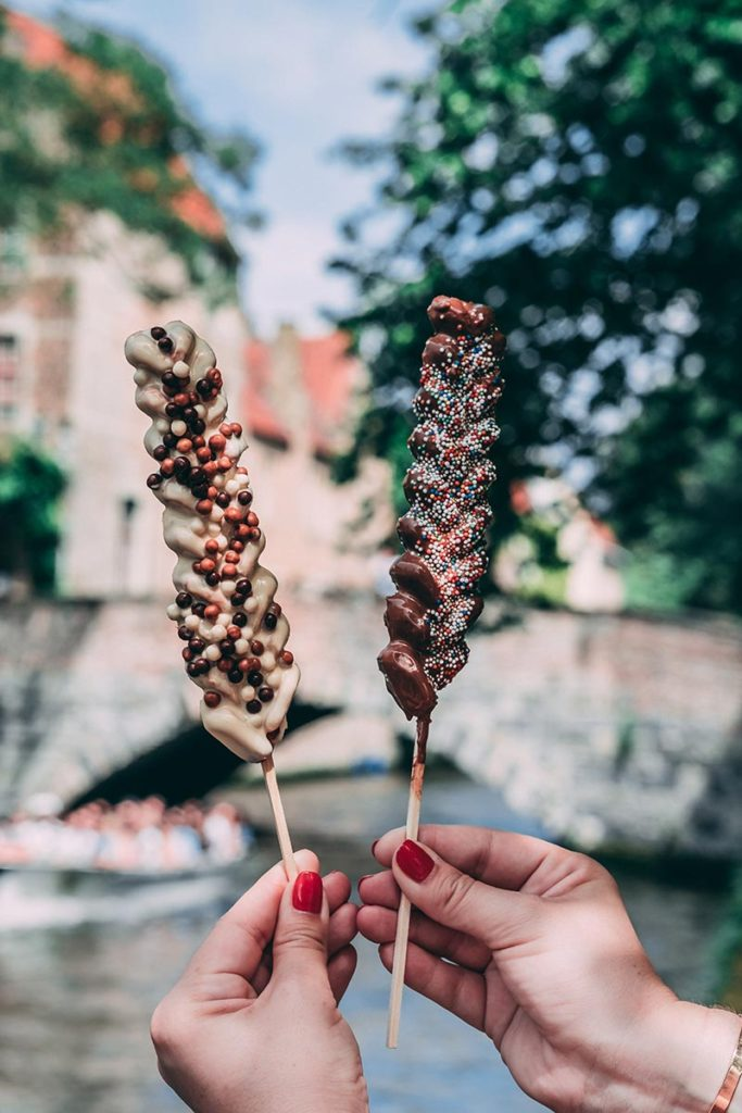 Refuse to hibernate Bruges gaufre stick