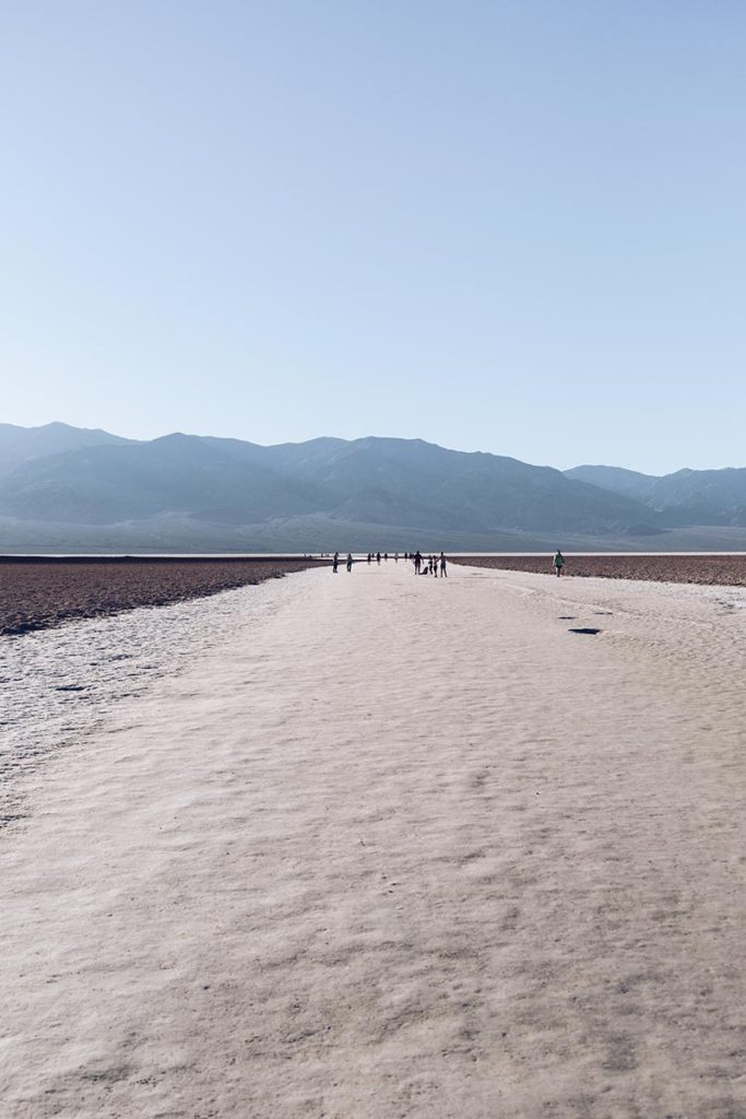 Refuse to hibernate Death Valley badwater bassin désert de sel