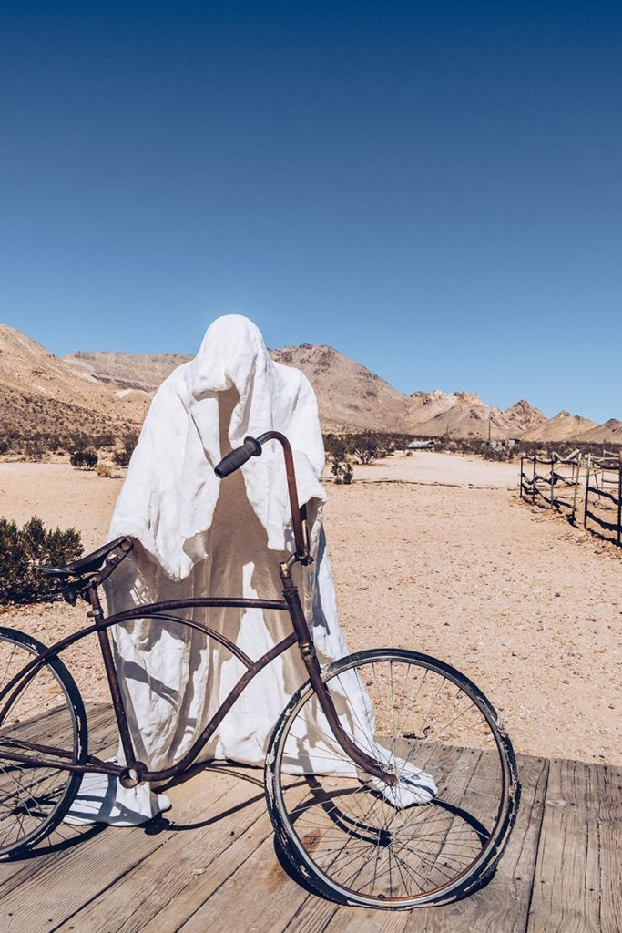 Refuse to hibernate Death Valley goldwell open air museum the last supper ghost rider