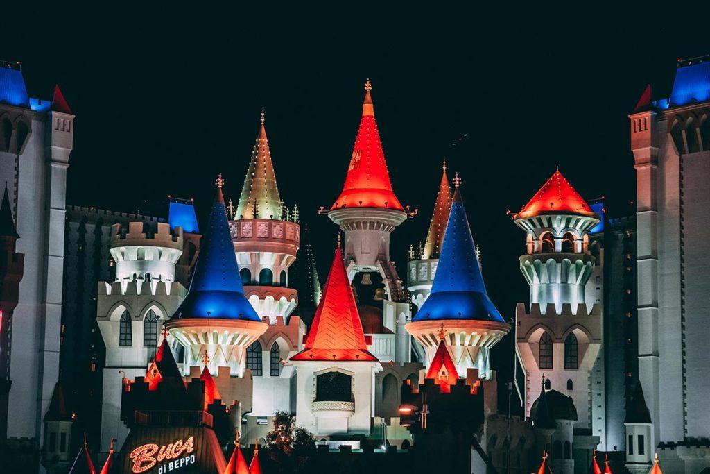 Refuse to hibernate Las Vegas hôtel Excalibur