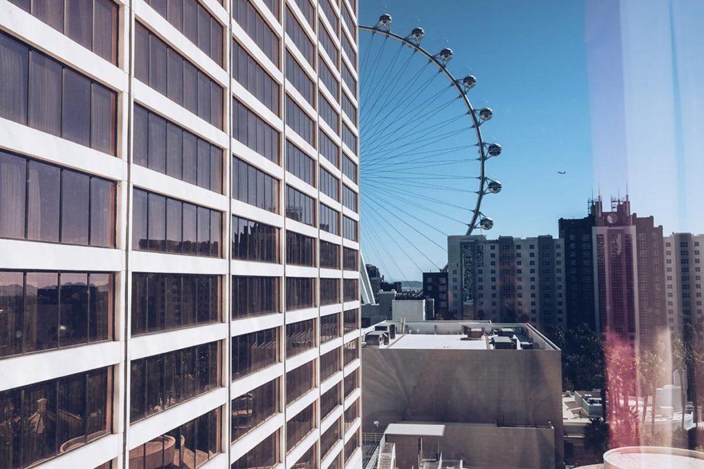 Refuse to hibernate Las Vegas hôtel Flamingo vue de la chambre