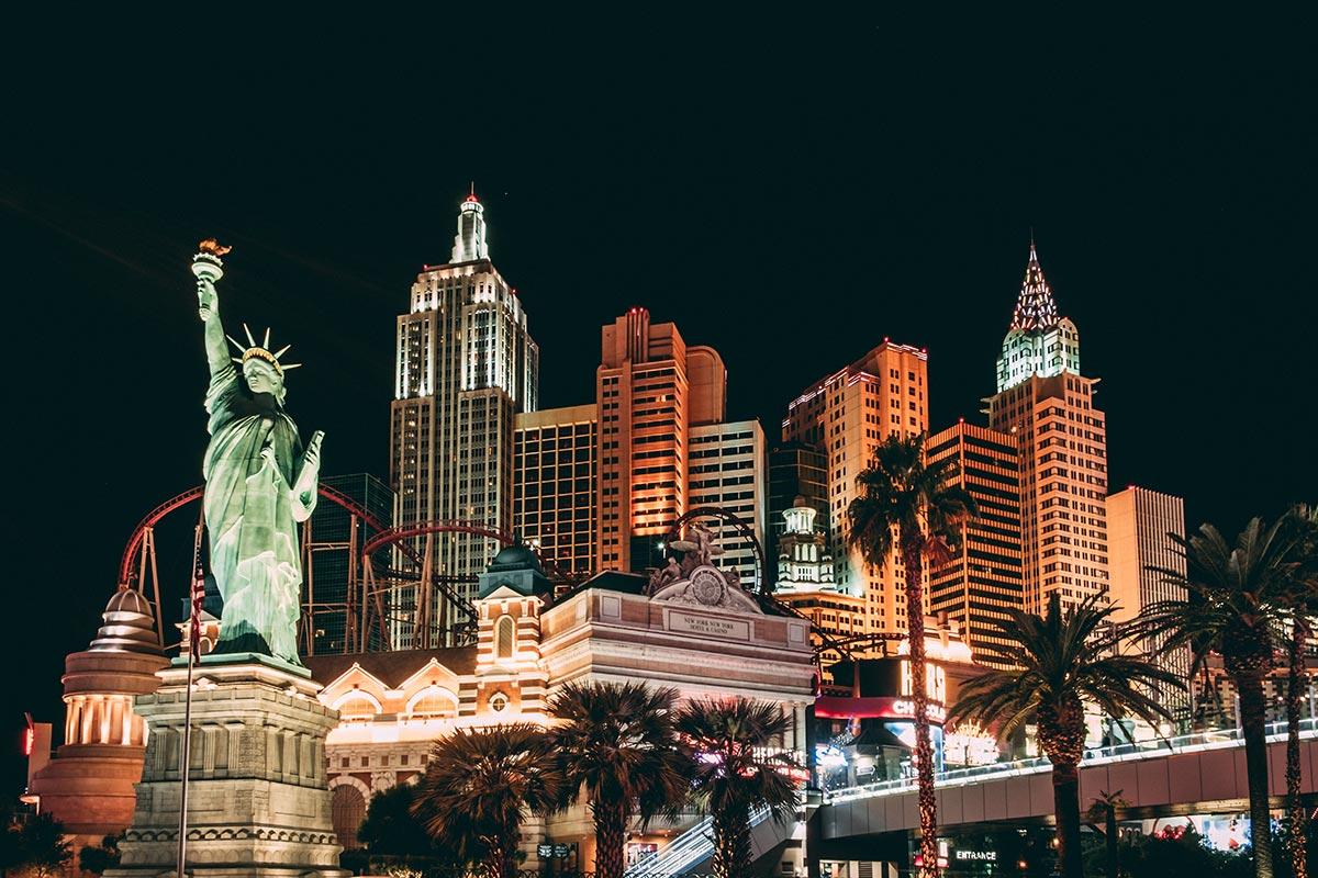 Refuse to hibernate Las Vegas hôtel New York New York de nuit