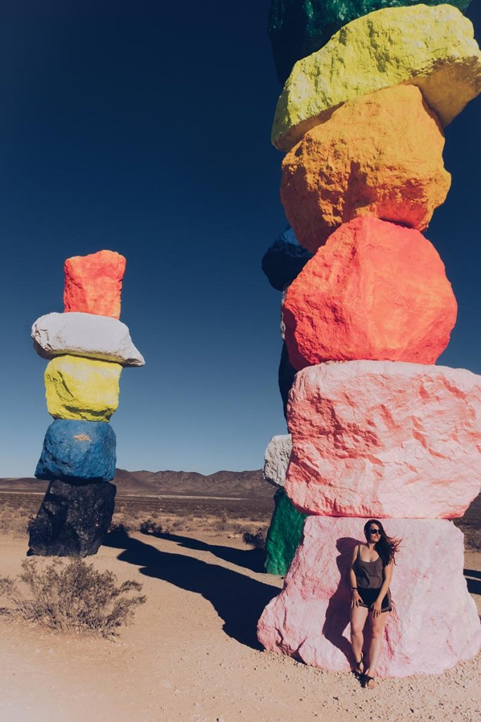 Refuse to hibernate Las Vegas Seven Magic Mountains Audrey shooting