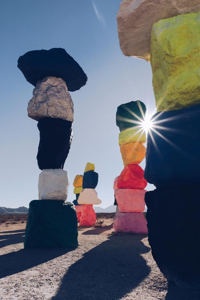 Refuse to hibernate Las Vegas Seven Magic Mountains soleil
