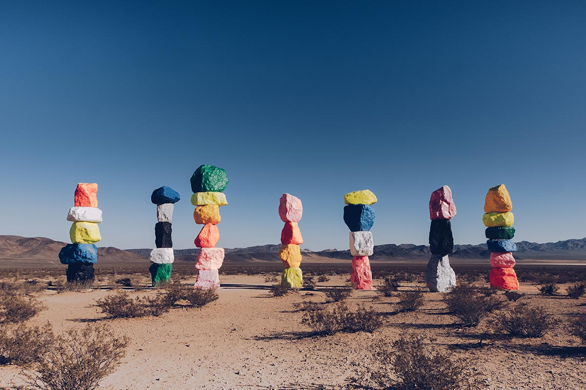 Refuse to hibernate Las Vegas Seven Magic Mountains