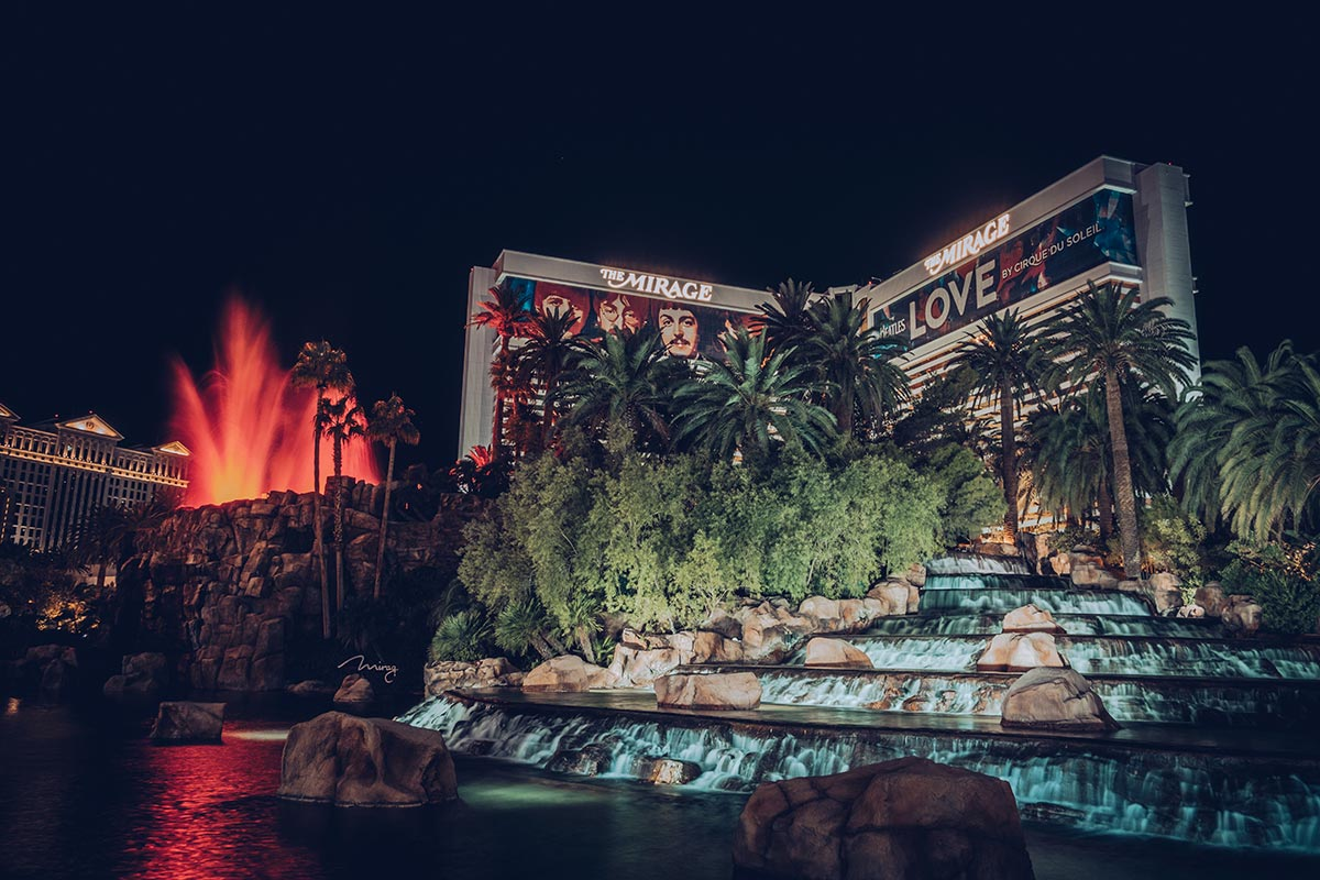 Refuse to hibernate Las Vegas The Mirage