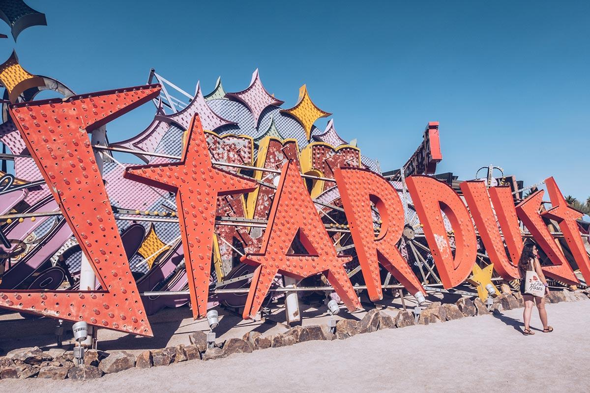 Refuse to hibernate Las Vegas The Neon Museum stardust