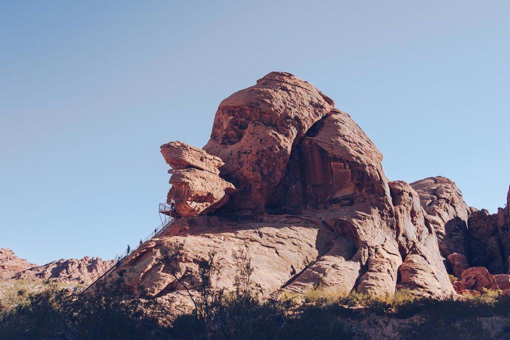 Refuse to hibernate Las Vegas Valley of Fire point de vue