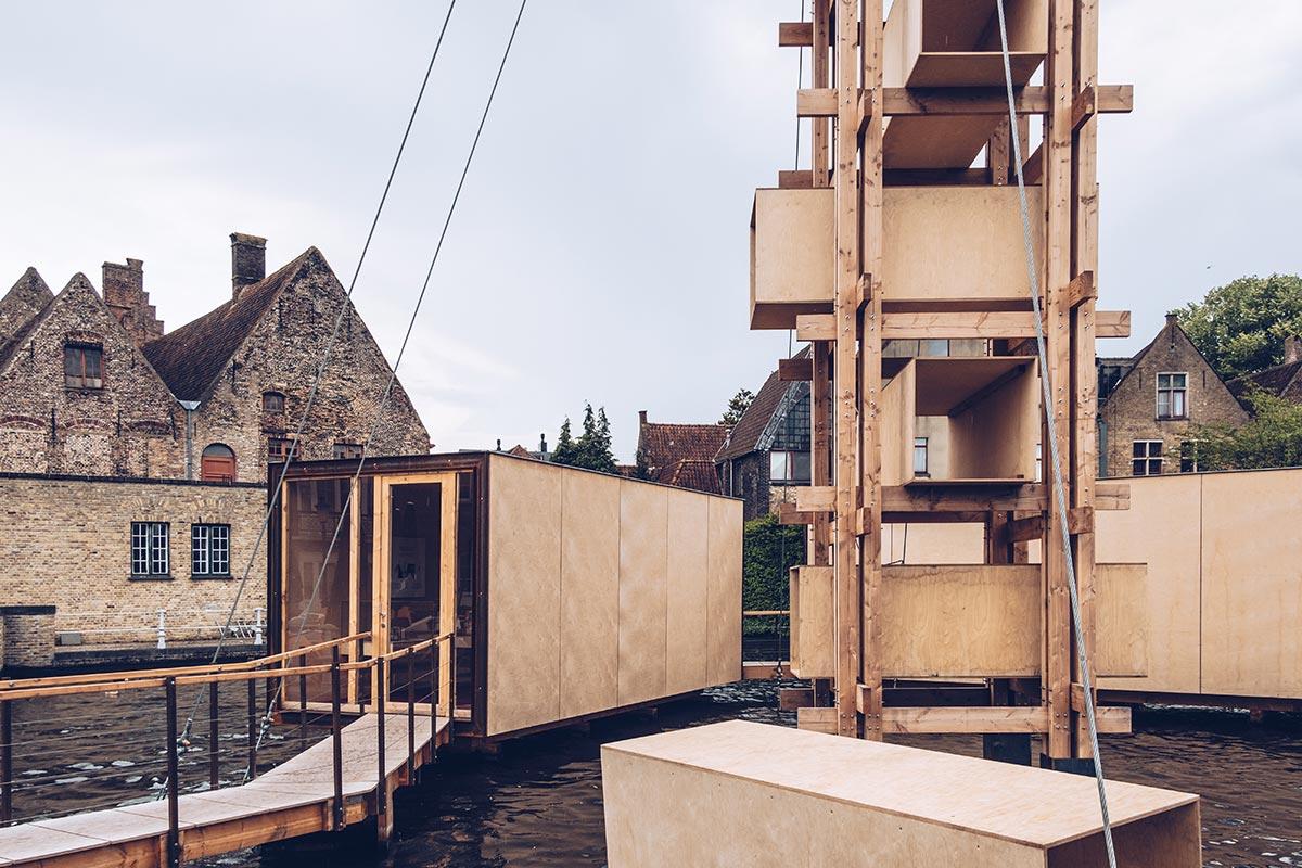 Refuse to hibernate Triennale Bruges Infiniti 23 habitat