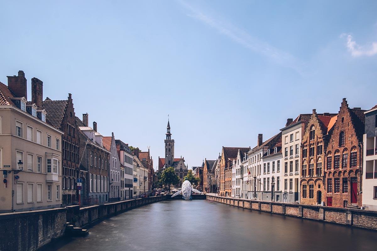 Refuse to hibernate Triennale de Bruges Skyscraper canal