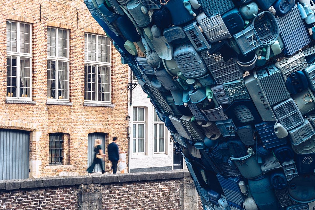Refuse to hibernate Triennale Bruges Skyscraper focus