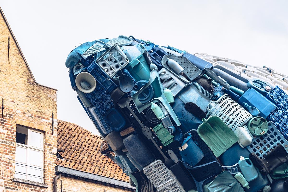 Refuse to hibernate Triennale de Bruges Skyscraper tête