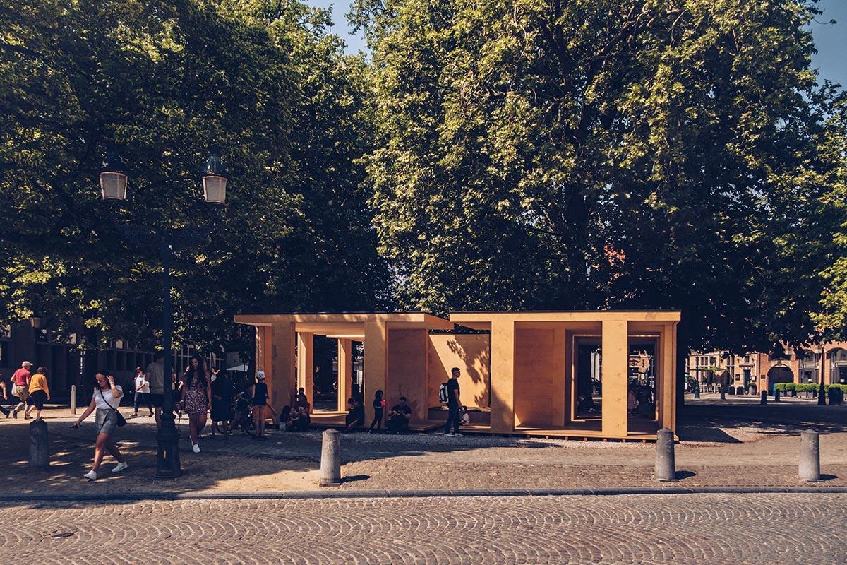Refuse to hibernate Triennale Bruges UrbanModel