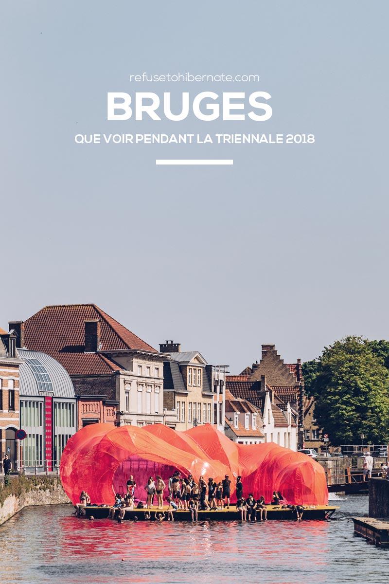 Refuse to hibernate Triennale de Bruges 2018 Pinterest