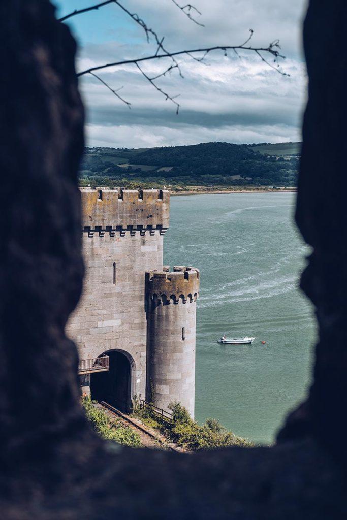 Refuse to hibernate Pays de Galles château de Conwy focus
