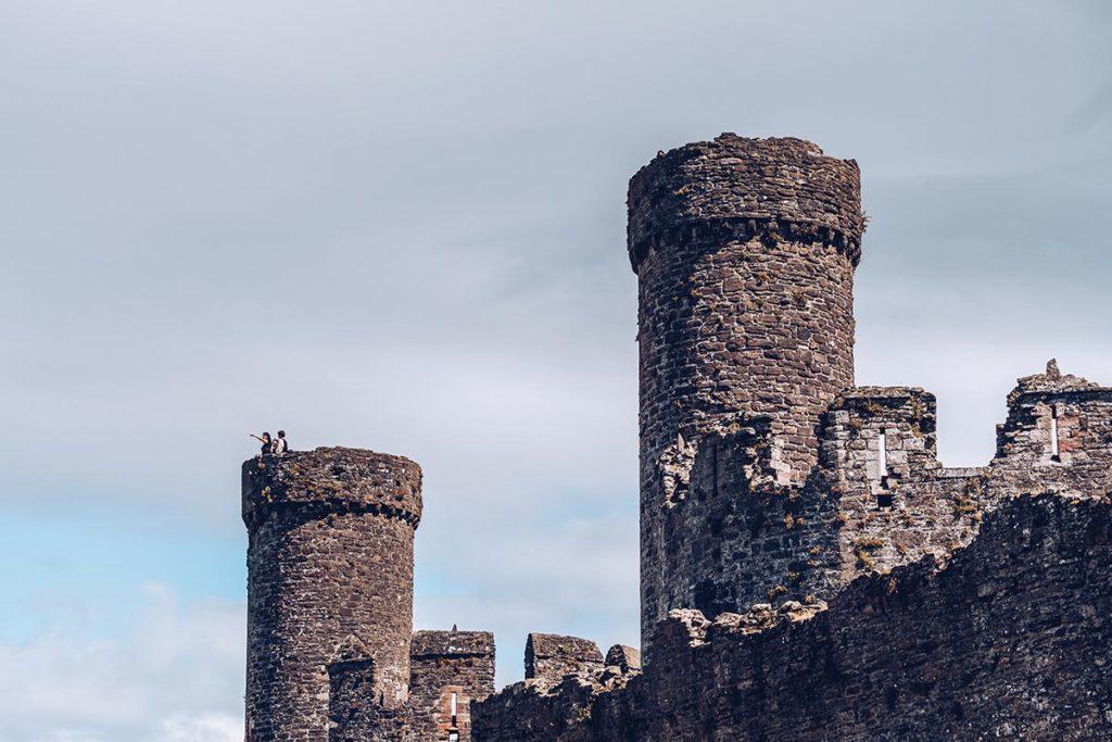 Refuse to hibernate Pays de Galles château de Conwy tours