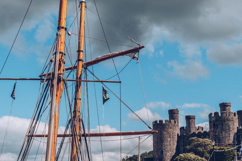 Refuse to hibernate Pays de Galles Conwy bateau