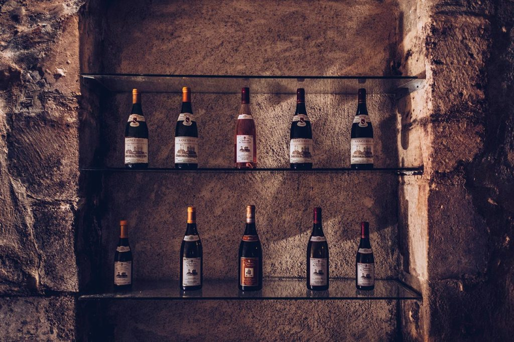 Refuse to hibernate Sancerre Château de Sancerre bouteilles