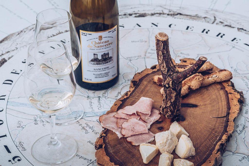 Refuse to hibernate Sancerre Château de Sancerre dégustation vin Chavignol Croquants jambon