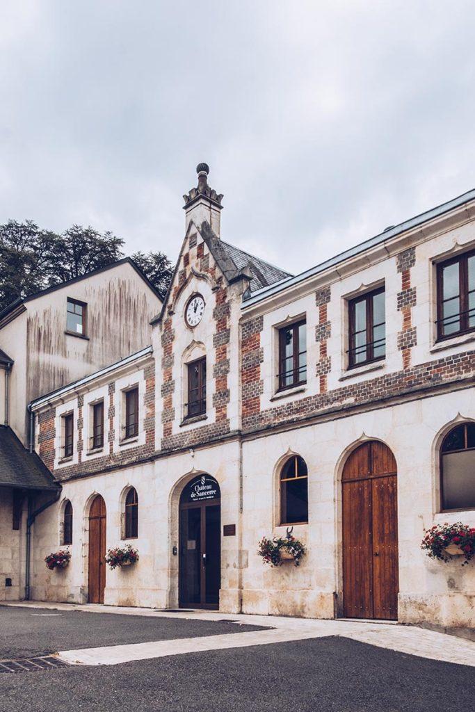 Refuse to hibernate Sancerre Château de Sancerre entrée